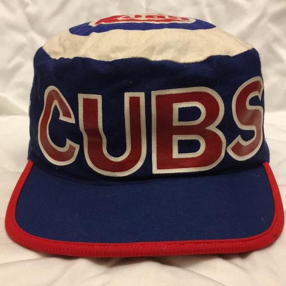 Vintage Chicago Cubs Painter s Hat c047c8fed86